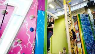 Indoor Climbing Adventure