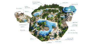 Subtropical swimming paradise water park holidays - Elveden forest centre parcs swimming pool ...