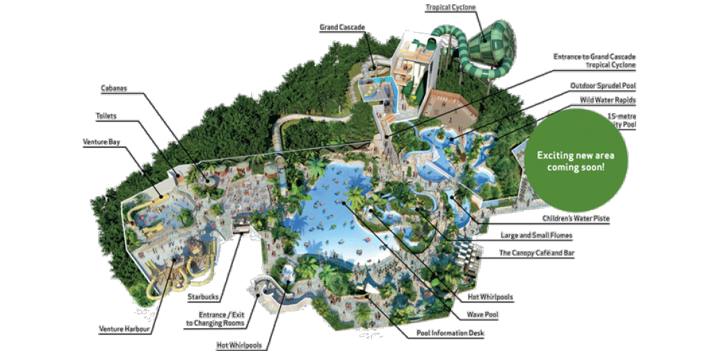 Center Parcs Sherwood Forest Map Subtropical Swimming Paradise | Water Park Holidays | Center Parcs