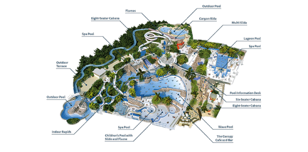 Center Parcs Whinfell Map Subtropical Swimming Paradise | Water Park Holidays | Center Parcs