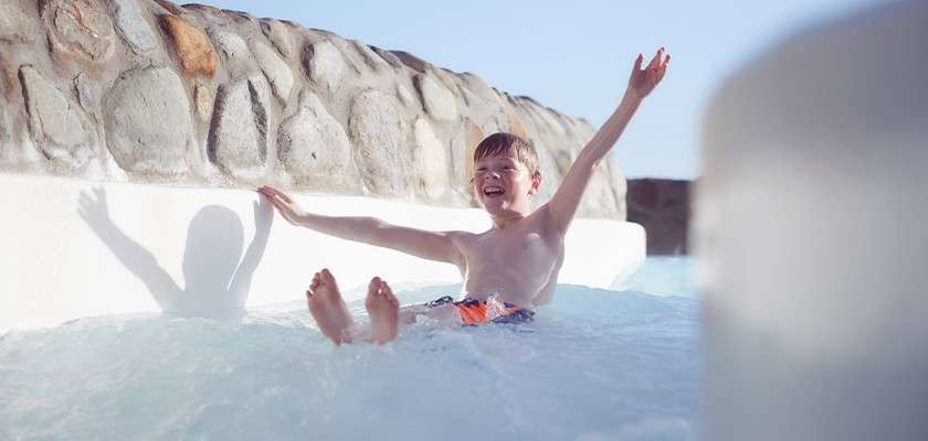 Subtropical Swimming Paradise at Longleat Forest