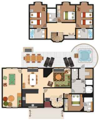 4 bedroom Exclusive Lodge | Center Parcs