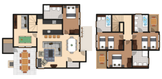 4 Bedroom New Executive Lodge Center Parcs