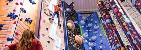 Indoor Climbing Adventure 55 Minutes