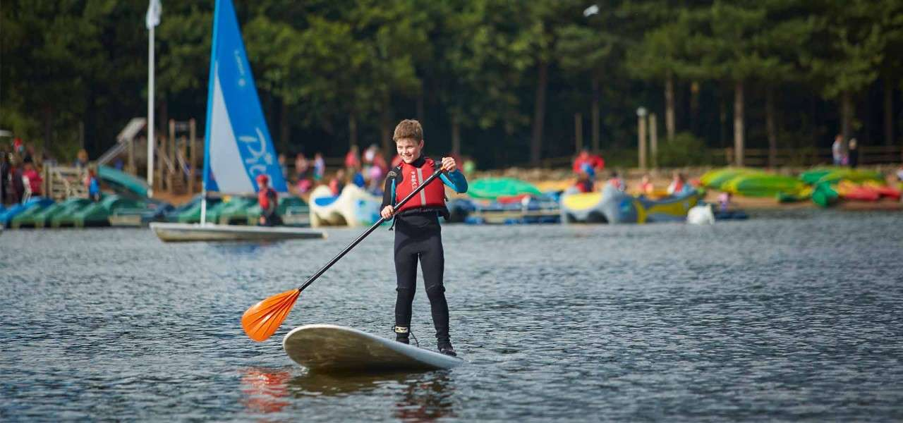 Junior Paddleboarding
