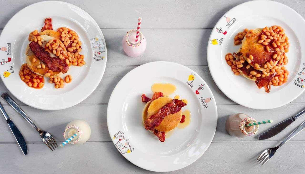 Children's breakfast
