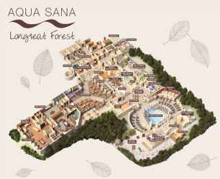 Longleat Forest Aqua Sana Spa Map