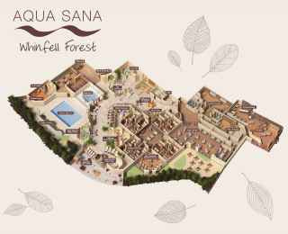 Whinfell Forest Aqua Sana Spa Map