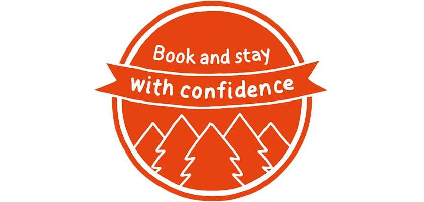 Book & stay with confidence