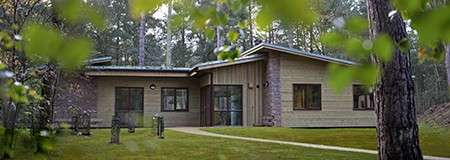 6 bedroom Adapted Woodland Lodge at Woburn Forest